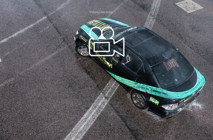 Learn to drift car event filming at Rockingham